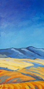 Desert Light acrylic painting by Lisa & Lori Lubbesmeyer