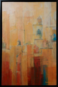 Water Towers Painting Lubbesmeyer