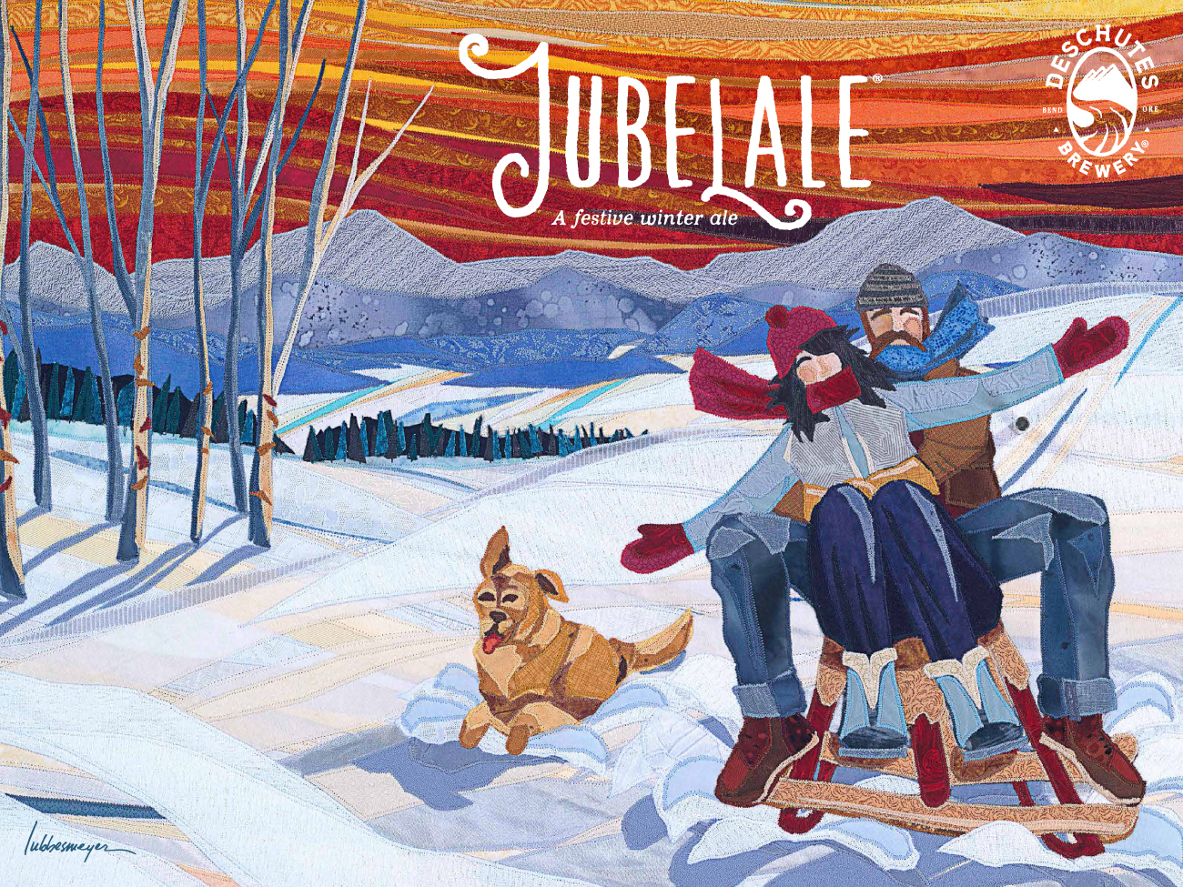 Deschutes Brewery Jubelale Label