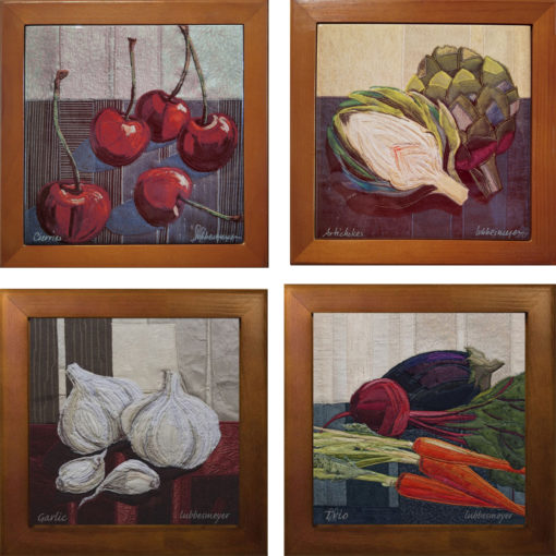 Lubbesmeyer still life printed tiles