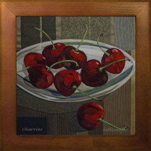 Lubbesmeyer Cherries ceramic tile print