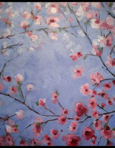 Lubbesmeyer Blossoms acrylic painting