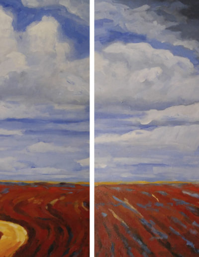 Turned Earth (diptych)